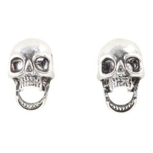 Skull (with movable mouth) Stud Earrings 💀